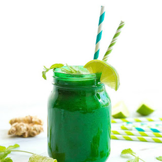 Vegan Ginger-Mint Detox Smoothie