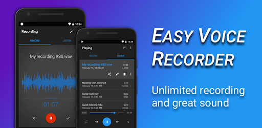 Easy Voice Recorder - Apps on Google Play