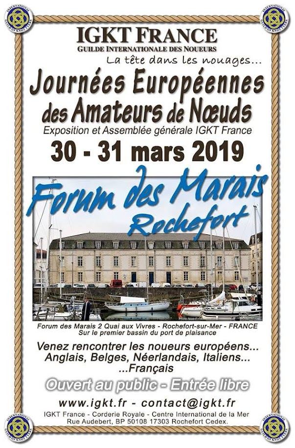 IGKT France Knotting Weekend