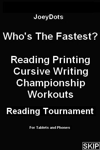 Reading Tournament