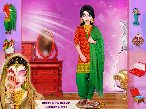 Indian Bhabhi Makeup Salon Game 1.1 screenshots 3