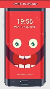 PokeMonster Go Pin Lock Screen screenshot 2