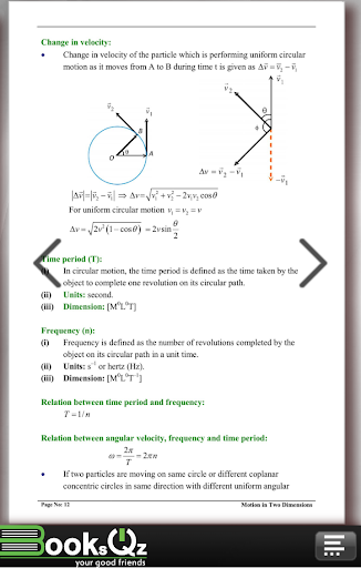 Download Motion in Two Dimensions Physics Formula e-Book Google Play