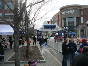 Photo: Sunday Morning Road Race Finish Line at 'The Square'