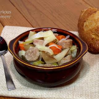 Oktoberfest Stew - Slow Cooker.
