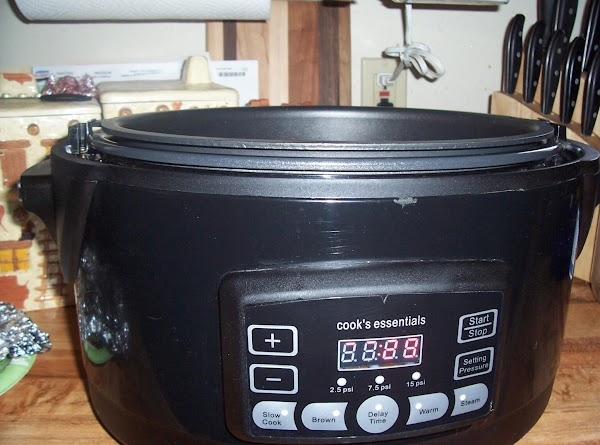 I use my electric pressure cooker for this recipe:Preheat electric pressure cooker using the...