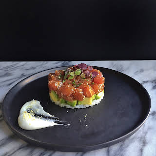 Asian Tuna tartare.