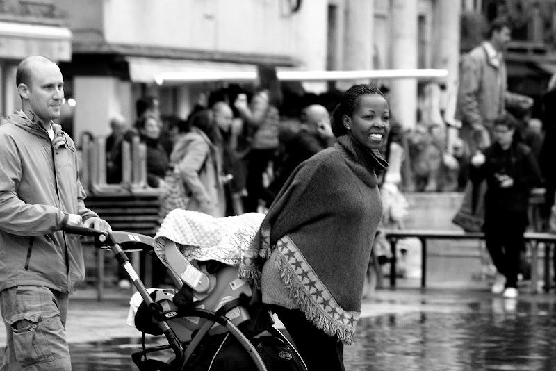 Family in Venice di Andrea F