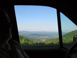 Photo: K8GP / Rover - Skyline Dr. Shenandoah looking east