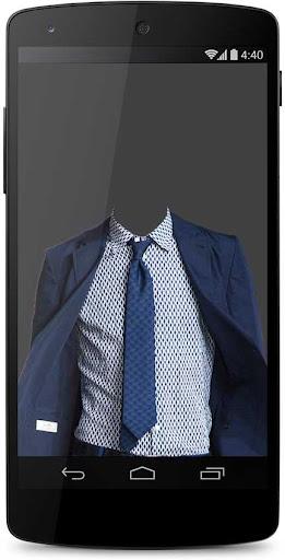 Paris Man Suit Photo Montage