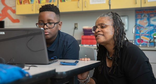 Mildred Johnson uses CS First as project-based learning for science and social studies