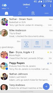 Почта Email - TypeApp Mail Screenshot