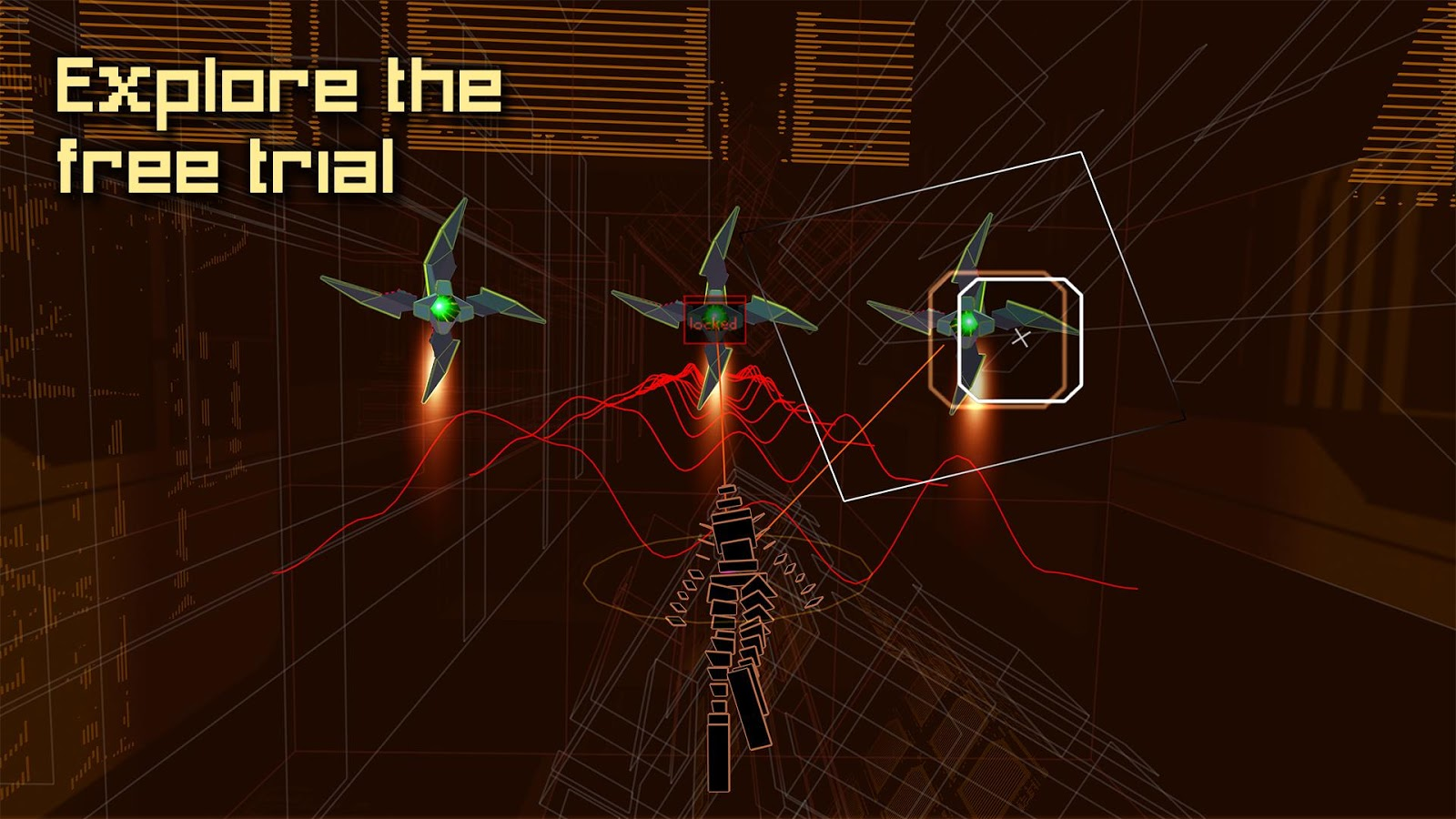 Rez Infinite- screenshot