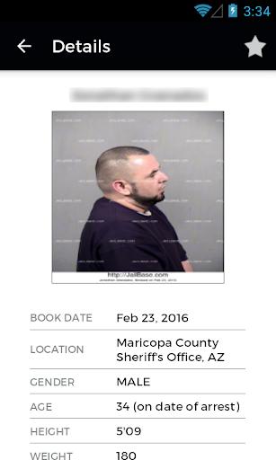 JailBase - Arrests + Mugshots Screenshot