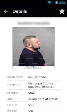 JailBase - Arrests + Mugshotsのおすすめ画像4