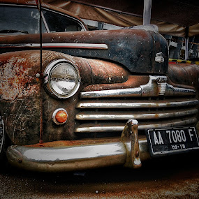 OLD CAR by Frans Priyo - Transportation Automobiles ( car, beautiful, transportation, antique )