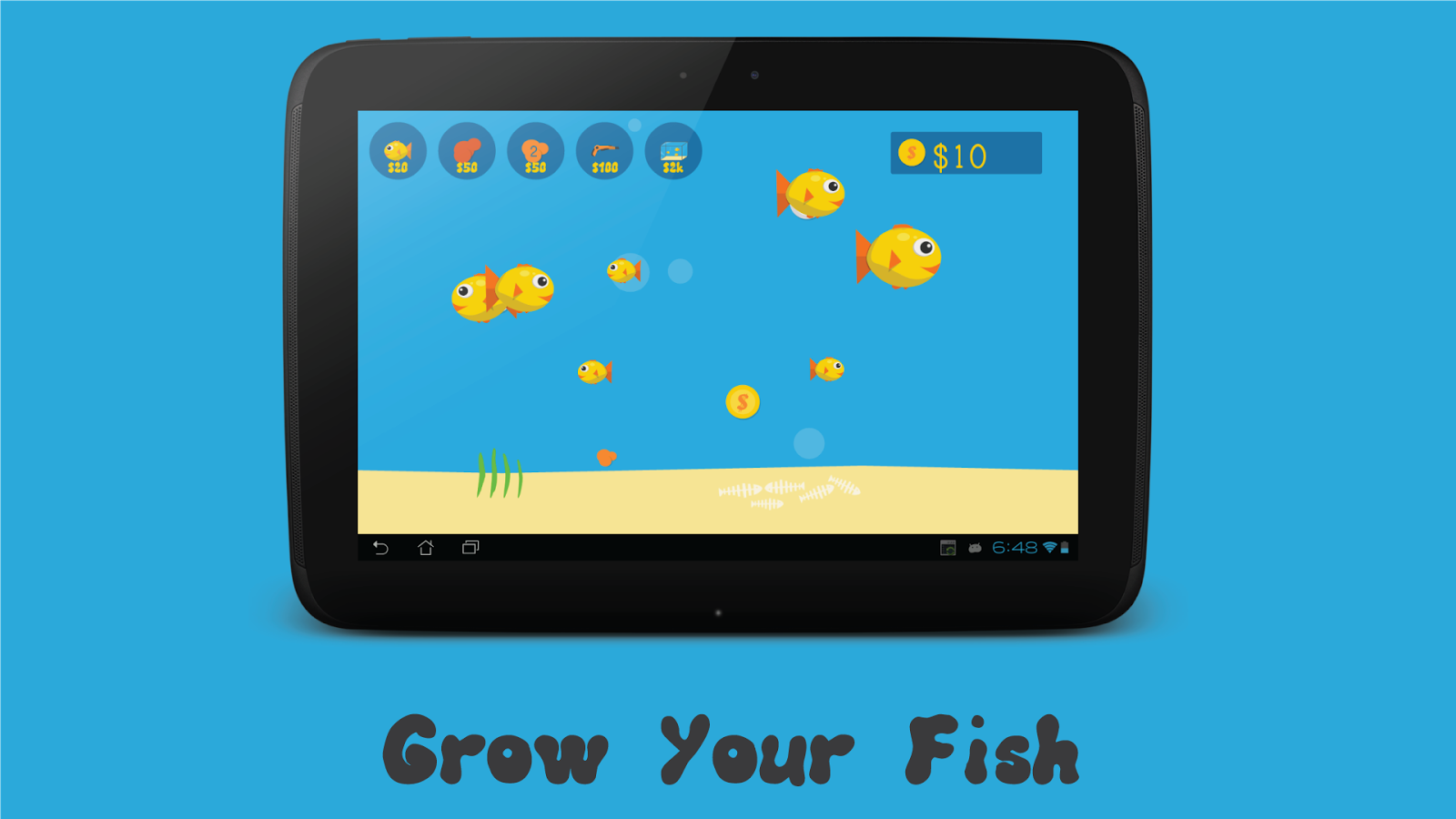 Fish aquarium android apps on google play for Fish tank app
