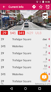 London Bus Checker Live Times Screenshot 1