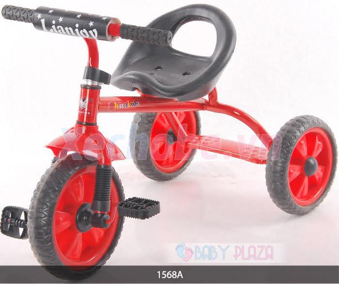 xe đạp cho bé loại ba bánh có bàn đạp