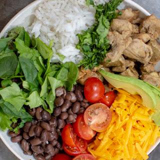 Chicken Burrito Bowl.