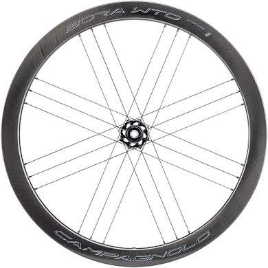 Campagnolo BORA WTO 45 Front Wheel - 700c, QR x 100mm, Center-Lock, 2-Way Fit, Dark Label alternate image 2