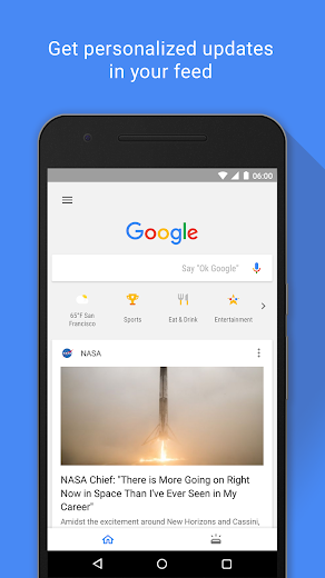 Screenshot 0 for Google's Android app'