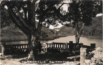 Photo: Lago do Quitandinha, antes de construção do Palácio Quitandinha. Década de 30.