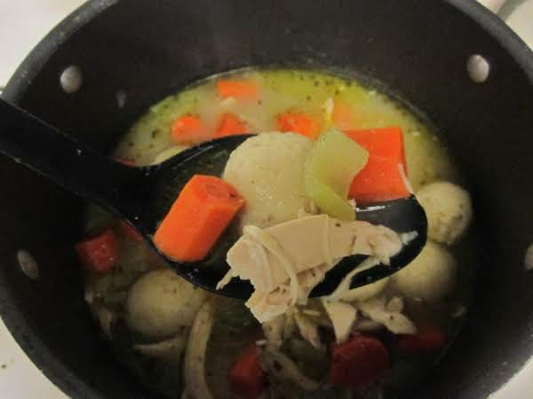 Matzo Ball Soup With Chicken