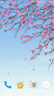 Sakura Video Wallpaper 3D- screenshot thumbnail