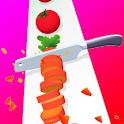 Chop Slice Perfect Slices Fruit icon