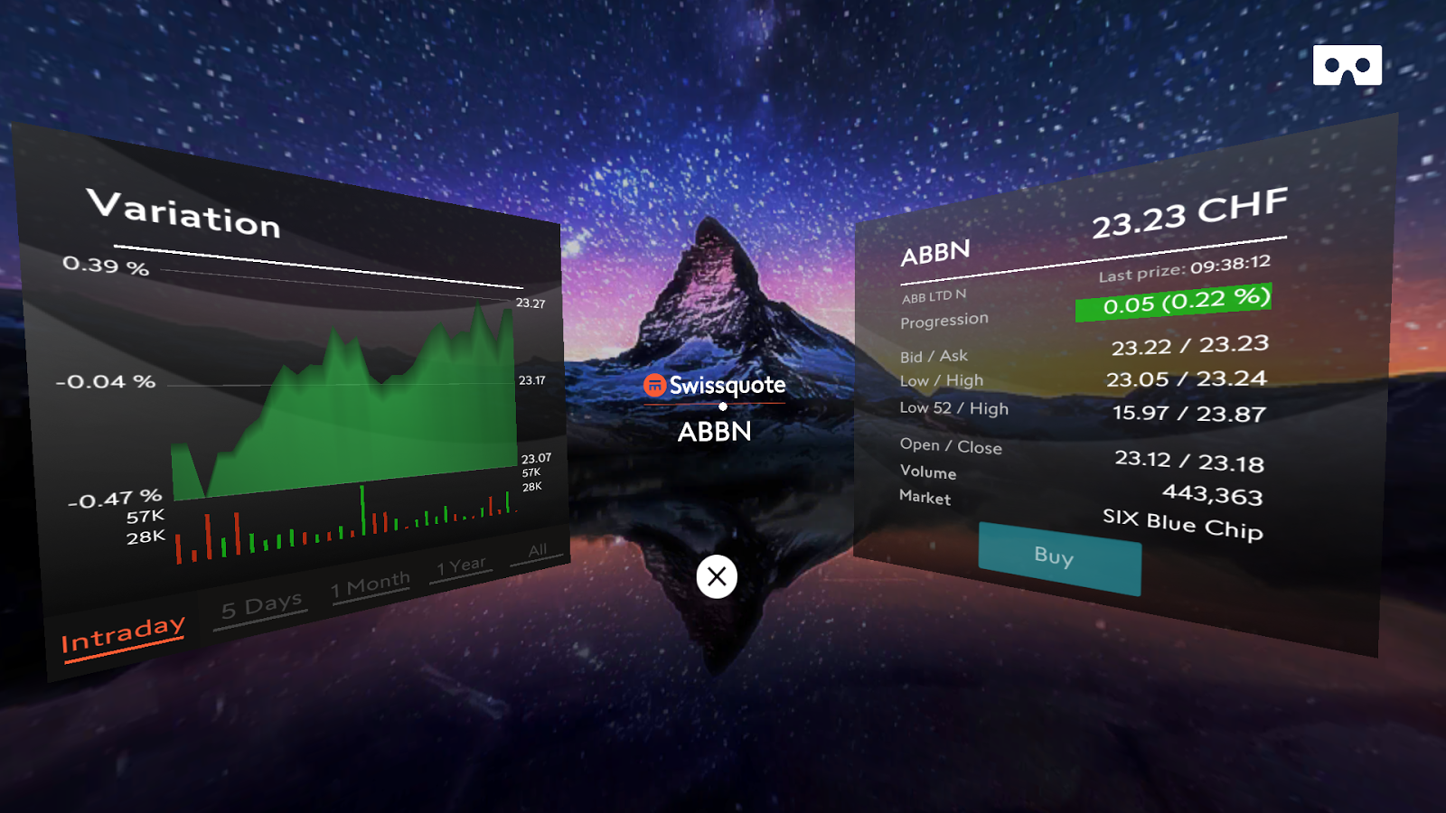 Trading VR- screenshot