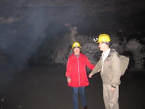 Photo: krudtrøg i minen