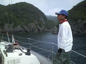 Photo: 目的の入江に無事到着