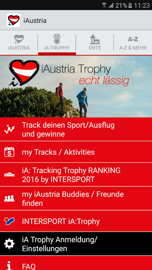 iAustria - The Travel Guide.- screenshot