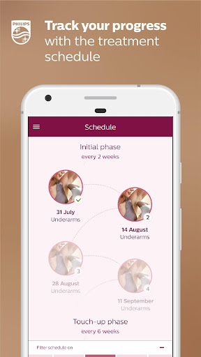 Philips Lumea IPL 2.1.1 screenshots 4