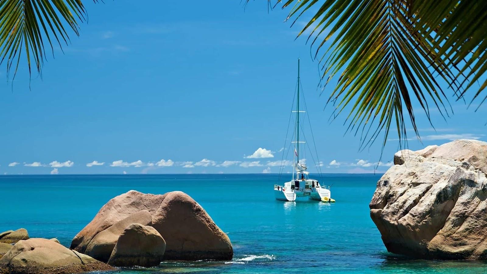 Аренда парусного катамарана на Сейшельских островах Sailica