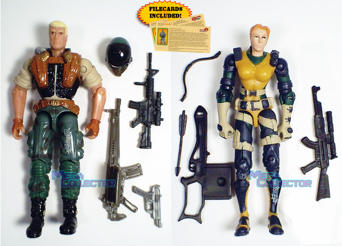 Gi Joe Scarlett VS Storm Shadow 3 3//4 Action Package Made By Hasbro In 2002