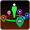 Around Me Places GPS icon