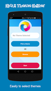EMUI Theme Editor Screenshot