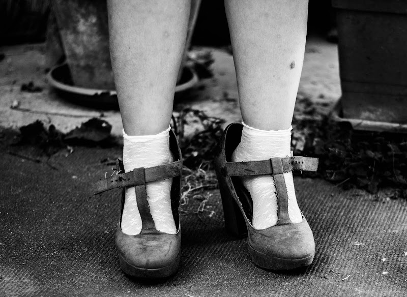 Scolaretta anni '80 di Renata Roattino@jhonninaphoto