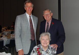 Photo: (left to right) Dr. David Birner, Mrs. Phillis Rowold, and Dr. Henry Rowold. Dr. Birner (alumnus Papua New Guinea and LCMS World Mission associate executive director for International Mission) presented the Rowolds (Taiwan 1965-1984, Hong Kong 1984-1995, St. Louis & Greater China 1995-2007) before the veteran missionary honorees luncheon hosted by LCMS World Mission.