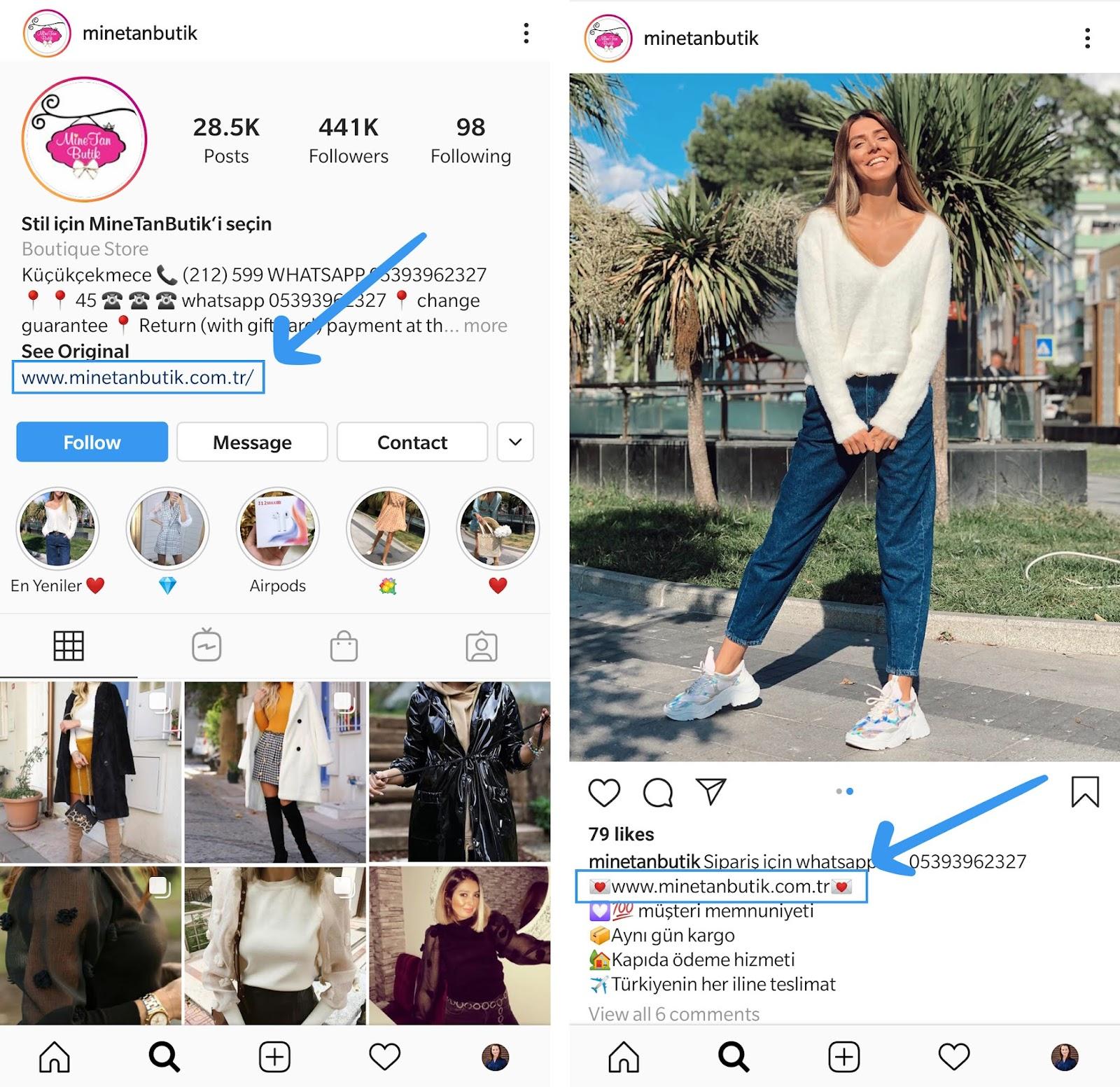 instagram shoppable feed