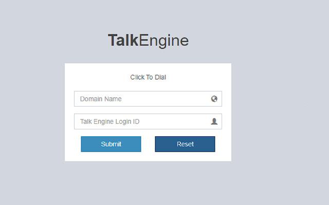 Talk Engine API