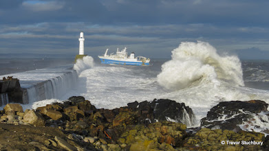 Photo: Scotia at South Breakwater, Aberdeen