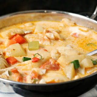 Thai Coconut Fish Soup Gluten & Dairy FREE