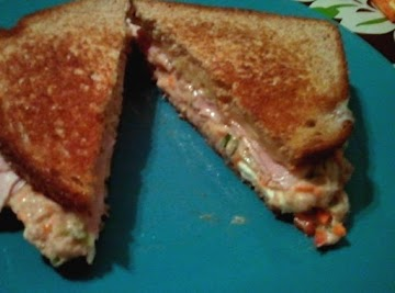 Surf N Turf Grilled Cheese Sandwich Recipe