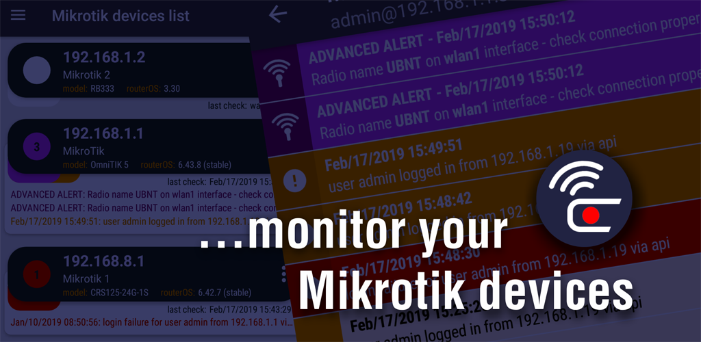 Download Mikrotik Alerts APK latest version app for android devices