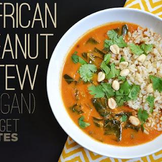 African Peanut Stew Vegan Recipes.