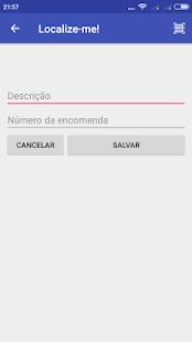 Localize-me! - Encomendas(Correios) - náhled