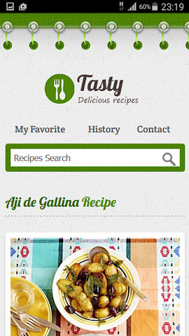 android Dinner Party Recipe Screenshot 5
